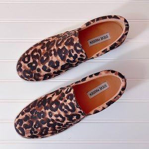 Steve Madden Gills-A Leopard Print Sneaker
